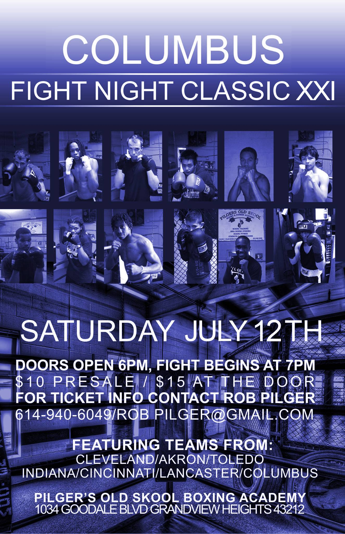 Columbus Fight Night Classic June 12th