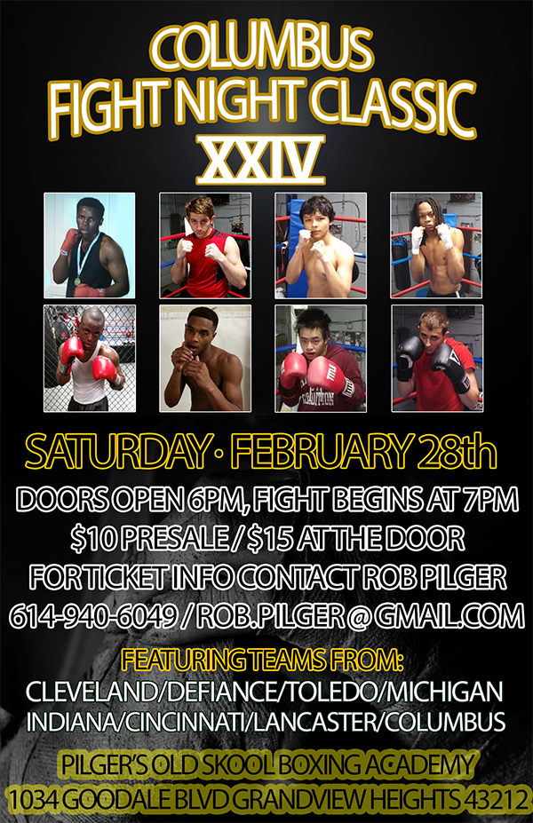 Columbus Fight Night Classic XXIV Saturday, Feb 28th