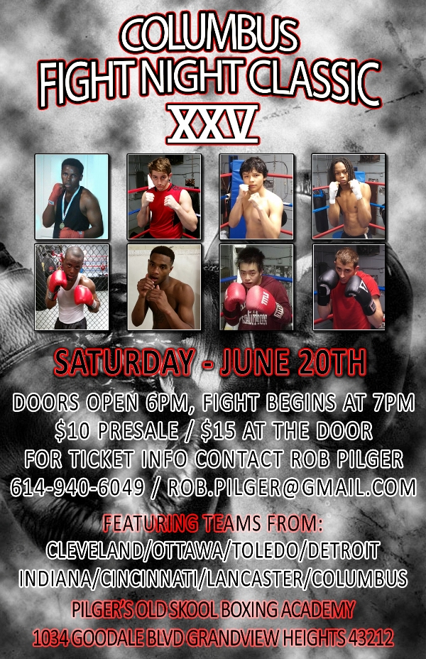 Columbus Fight Night Classic XXV Saturday, June 20th