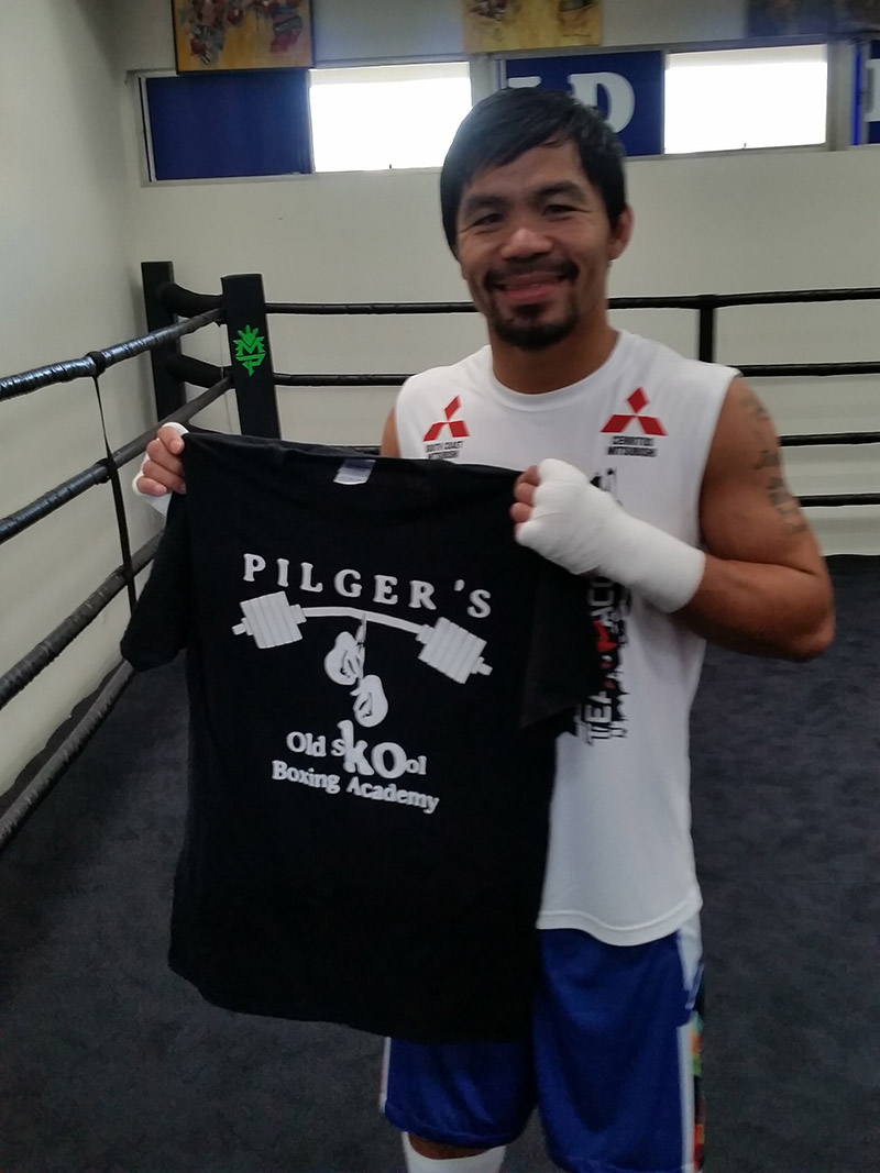 8 division World Super Star Champion Manny Pacquiao